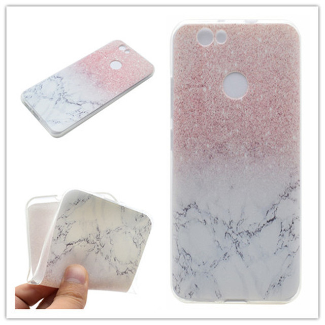 674099fc7d Transparent TPU Cover For Huawei Nova Case Fashion colour decoration Tower  bike Butterfly Girl Feather Design Phone Case