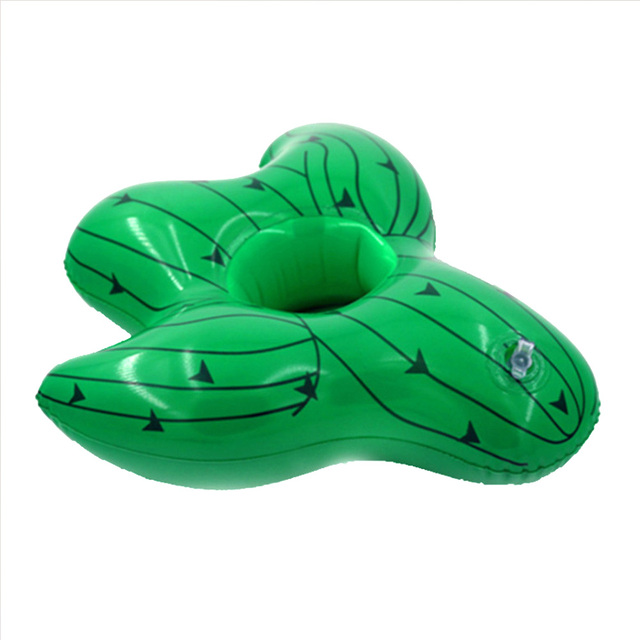 Inflatable Cactus Pool Cup Holder