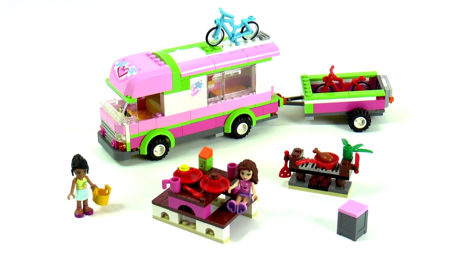 10168 девушки Приключения Camper Блоки Модель игрушка детская друзья кирпич цифры Совместимо legoes Друзья Набор Fit 3184