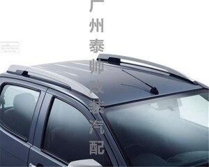 2012-2017 Высокое качество Аксессуары для isuzu d-max багажник на крышу рама из алюминиевого сплава dmax refires silier цвет алюминий
