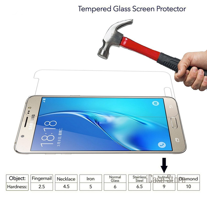 9H Tempered <font><b>Glass</b></font> Screen Protector For <font><b>Samsung</b></font> Galaxy S2 Plus <font><b>S3</b></font> <font><b>Neo</b></font> S4 S5 S6 S7 J1 J3 J5 J7 A3 A5 2016 Grand Prime G531 G530 image