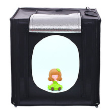 "30*30*30CM 12"" Mini Photo Studio Softbox Tabletop Lightbox Photography Shooting Light Tent Photo Light box kit For Jewelry"