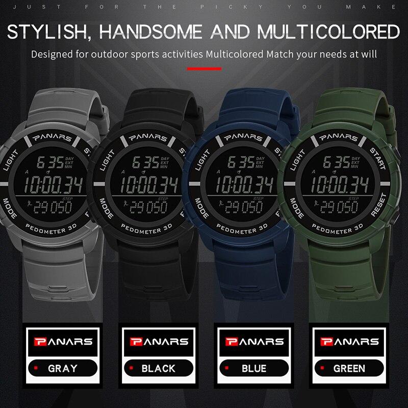 Top marca G estilo choque digital Reloj hombres Deporte Militar reloj de  buceo de natación 50 6a81b3b5b0bf