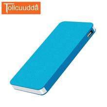 Tollccudda Portable Power bank 6000 mAh Ultra Mince En Métal PoverBank Externe Batterie Pack 2 USB Chargeur Pour iPhone 6/6 s Tous Les Téléphones