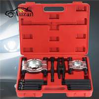 12pcs Bearing Splitter Gear Puller Fly Wheel Separator Set With Box Kit Tool