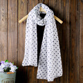 Popular winter cotton linen ladies scarf fashion style spots women scarf fan art tourism shawl