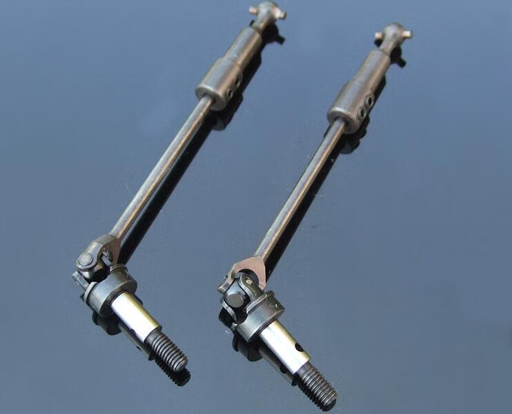 2 unids CVD del eje de transmisión del ejes 110-120mm para RC coche HSP 94108/94109/94110/94111/94111Pro/94118/94107/94170/94128 18015-A