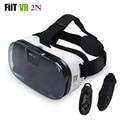 FIIT 2N VR Caja Auriculares Gafas 3D Gafas de Realidad Virtual 3D Video Casco para 4.0-6.5 Teléfono Móvil + inteligente Bluetooth Controlador