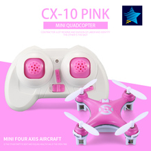 Cheerson Drone CX-10 4CH 6 Axis Gyro UAV with LED Lights 3D Flips/Rolls Mini Quadcopter RC Helicopter Electronic Toy Aircraft