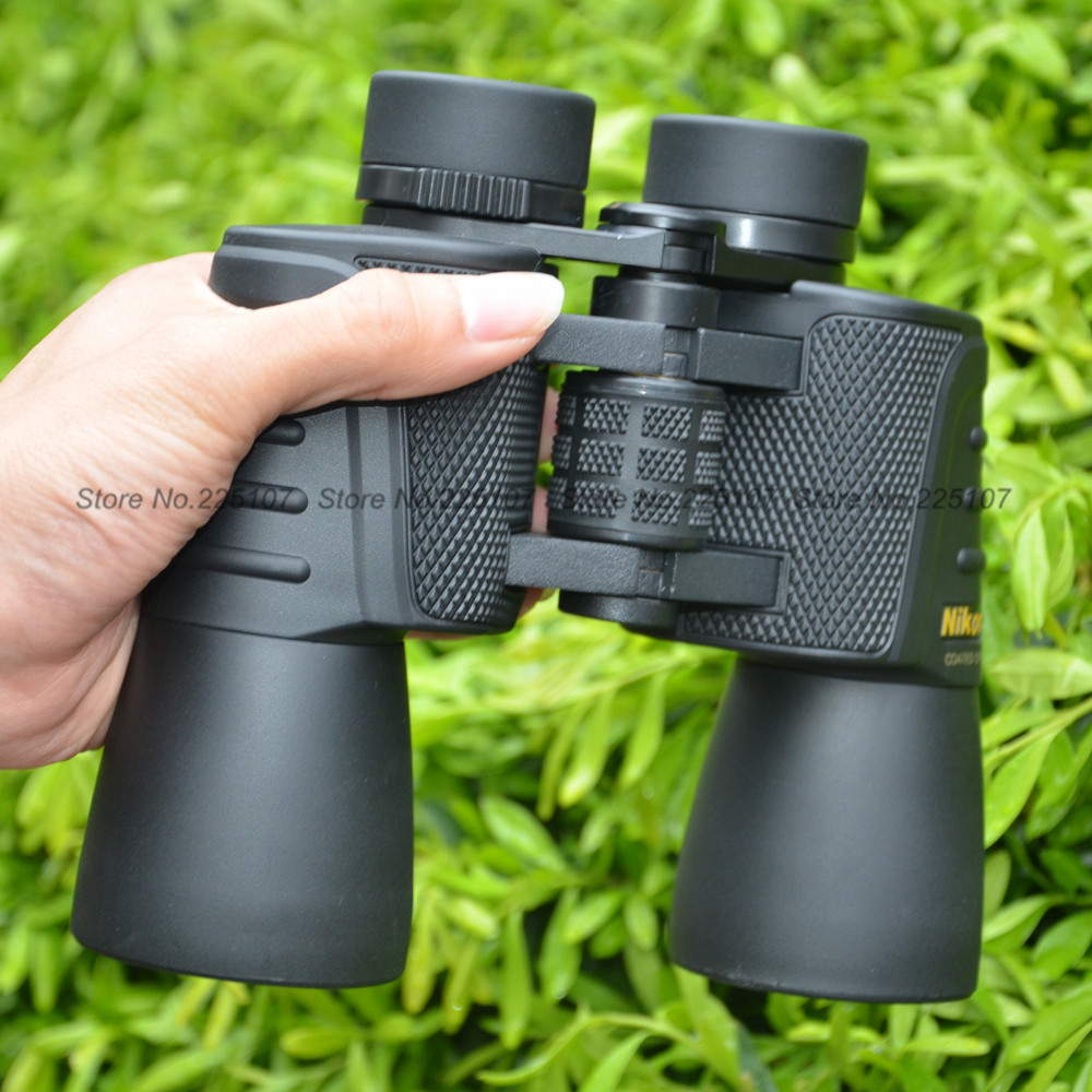 Hunting Nk20X50  Hd wide-angle Central Zoom Portable day and Night Vision waterproof Binoculars telescope not infrared  цены