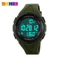 Free Shipping Waterproof Sports Military Camo Watches Men's Analog Quartz Digital Watch Girl Watch 1108