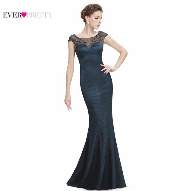 59151cddf6 Largo elegante Madre de la Novia Vestidos de Fiesta Sirena Siempre Pretty  EP08782 LaceMother de los