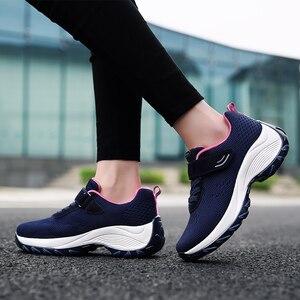 Image 2 - Женские кроссовки на плоской подошве TKN, дышащие сетчатые теннисные туфли, повседневные кроссовки, 1833, весна 2019