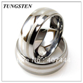 New Arrival 8MM Tungsten Tungsten Ring with Dual Laser Lines Design Wholesale 10 pieces /lot Free Shipping
