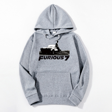 2019 Fast and the Furious Fast & Furious 7 Vin Paul Walker Men Hoodies leisure cotton Men casual Hoodie staryee 925 sterling silver the fast and furious 8 dominic toretto cross pendant necklace vin diesel men women free engraving