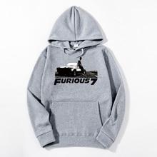 2019 Fast and the Furious Fast & Furious 7 Vin Paul Walker Men Hoodies leisure cotton Men casual Hoodie