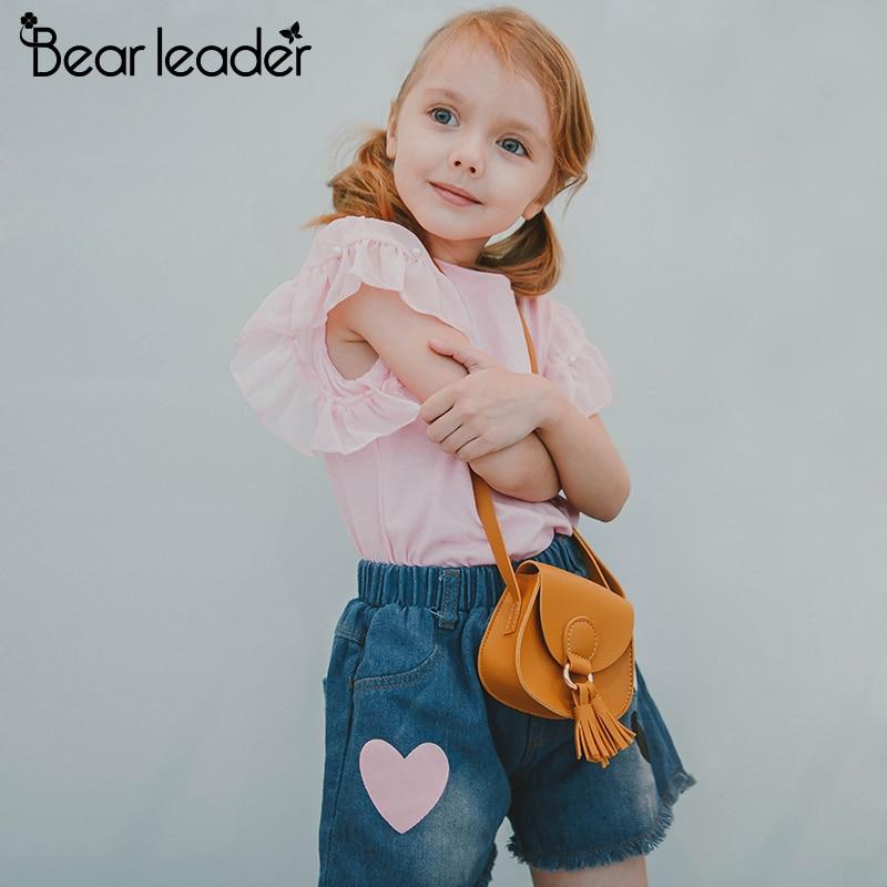 fbd9d4bcf Sistemas de la ropa de verano niños niñas traje deportivo algodón imprimir  manga corta Camiseta +