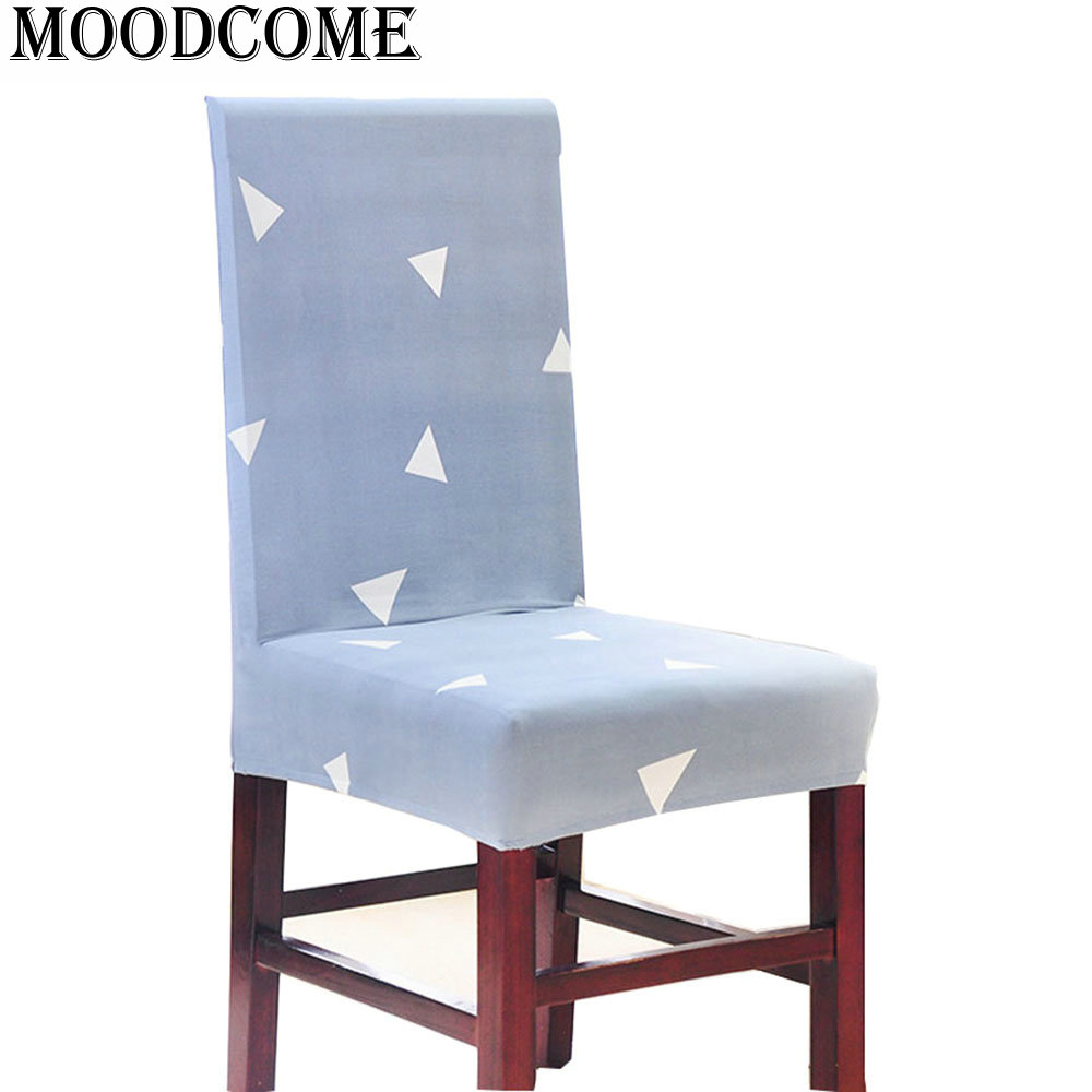 Wondrous Triangle Extensible Chair Cover Spandex 2017 New Dinning Machost Co Dining Chair Design Ideas Machostcouk