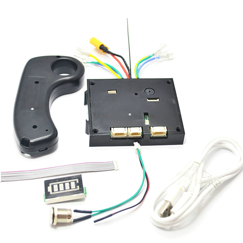 Dual Drive 180W 250W 350W Electric Skateboard Hub Motor Kits ESC And Remote Electric Lonboard Control Board