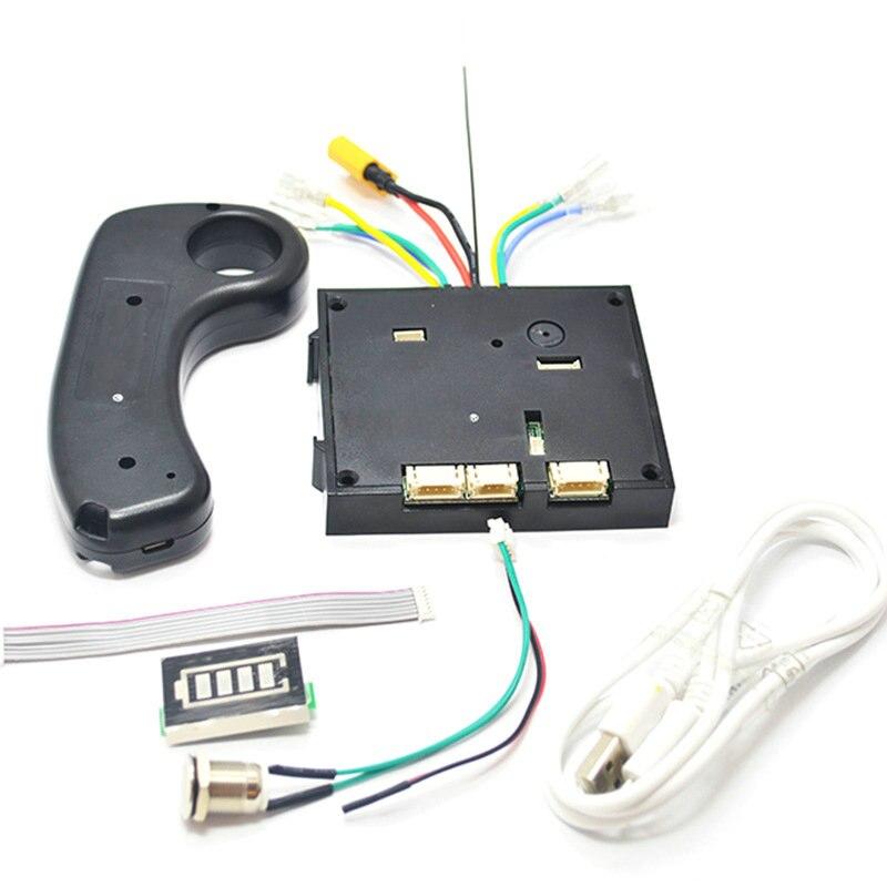 Dual drive 180 W 250 W 350 W skateboard électrique Hub kits de moteurs ESC Et À Distance Électrique Lonboard tableau de contrôle