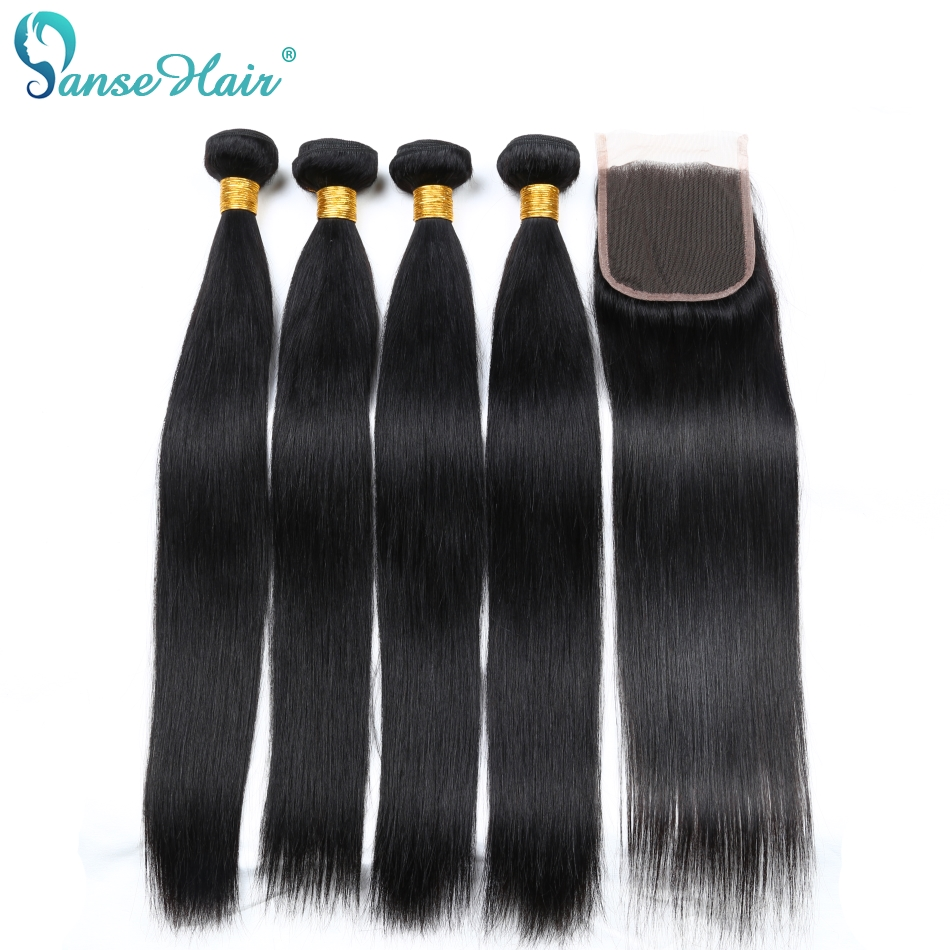 Panse Hair 4 Bundles Per Lot Peruvian Human Hair Products Non Remy Human Hair Weaving Customized 8-28 Inches Mixed Length