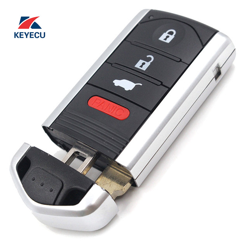 KEYECU Replacement Smart Remote Key Fob 3+1 Button For