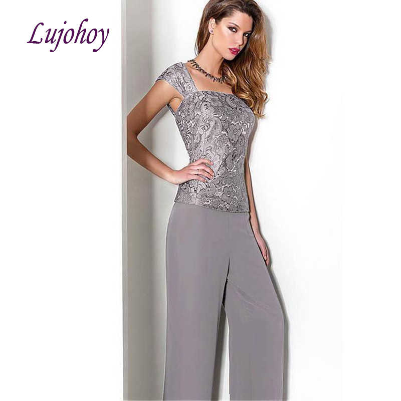 Lace Mother Of The Bride Dresses Pant Suits Plus Size For Weddings