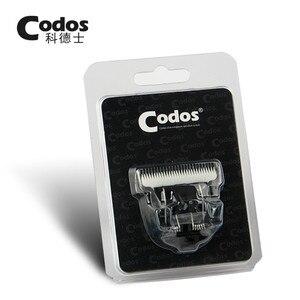 Image 1 - Cuchilla de titanio de cerámica Original para cortadora de pelo Codos CHC 961/960/968/T8/916/912, cuchilla recortadora, cabezal de corte de repuesto