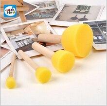 Пособия учебные деревянной краска ручкой живопись желтый губка дети шт.