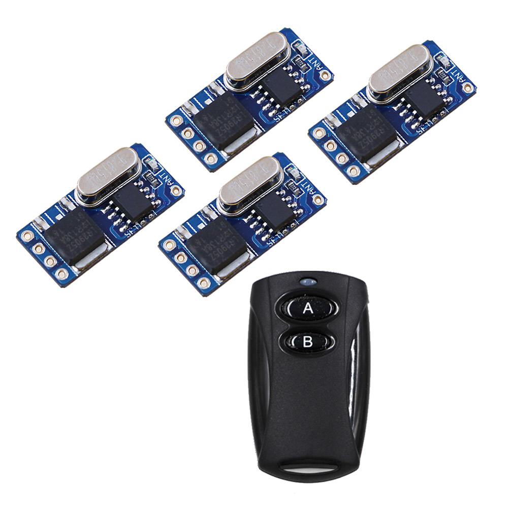 DC3.5V-12V RF Wireless Controller DC3.6V4.5V 5V 6V 9V 12V Mini Receiver Transmitter Micro Remote Control Power Switch 315MHZ dc3v 3 7v 5v 6v 7v 9v 12v mini relay wireless switch remote control power led lamp controller micro receiver transmitter system