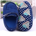 Cute Baby Girls Boy Toddler Shoes Crib Shoes Boots Multi-color Dot Bow Soft Sole Summer First Walkers