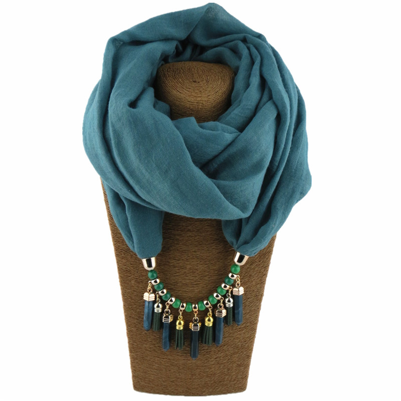 HTB1ASv4LQvoK1RjSZPfq6xPKFXap - RUNMEIFA Multi-style Jewelry Statement Necklace Pendant Scarf Women Bohemia Neckerchief Foulard Femme Accessories Hijab Stores