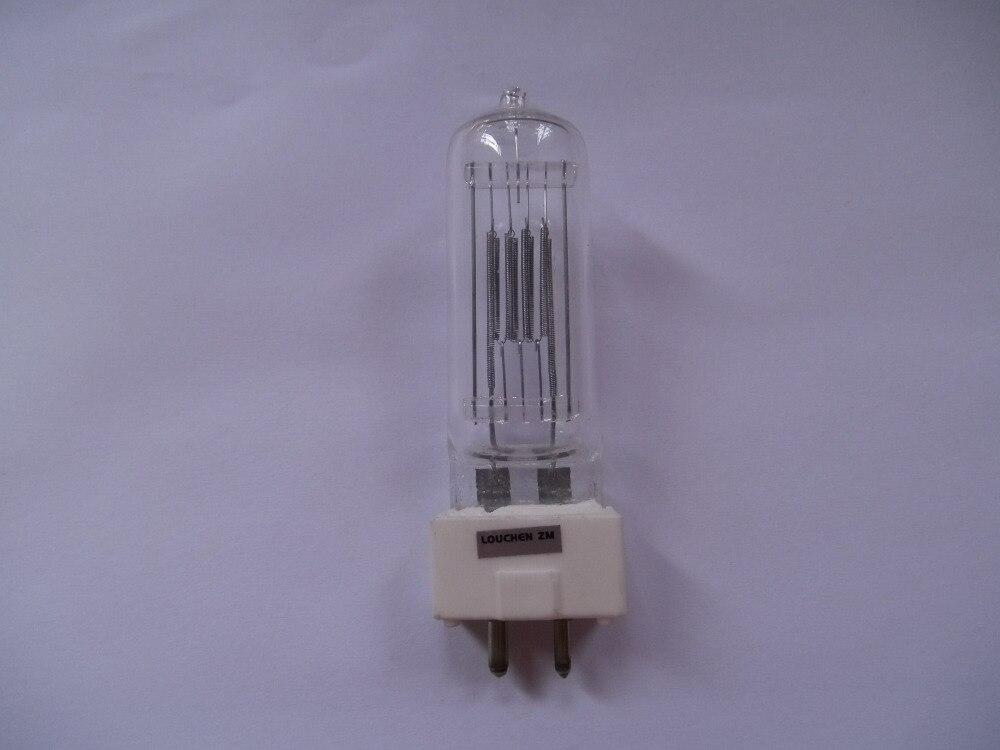 6pcs  GCT 230V 650W GY9.5 Halogen Bulb Lamp Stage Light