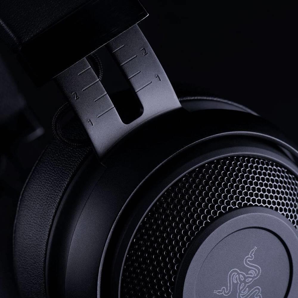 Casque de jeu analogique Razer Kraken Pro V2-3.5mm avec micro coussins d'oreilles ovales pour PC pour Xbox One pour Station de jeu 4 - 6