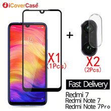 2Pcs Camera Tempered Glass Film And Front Glass For Xiaomi R