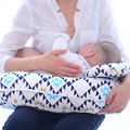 2Pcs one Set Multifunction Nursing Pillow Maternity Pillow U-Shaped Breastfeeding Pillow Cotton Feeding Waist Support Cushion