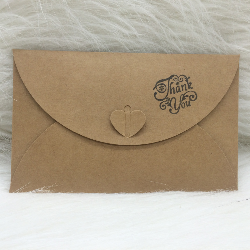 diy 50pcs lot kraft paper wedding invitations envelope birthday