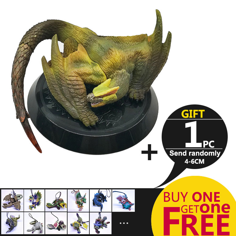 MHW Game Monster Hunter World PVC Models Toy Collectible Hot Dragon Monster  Action Figure Toy Monster Hunter
