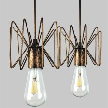 Vintage Nordic Spider Pendant Lamp Multiple Adjustable Retro Pendant Lights Loft Classic Decorative Fixture Lighting Led Home(China)