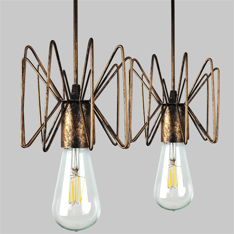 Vintage Nordic Spider Pendant Lamp Multiple Adjustable Retro Pendant Lights Loft Classic Decorative Fixture Lighting Led Home vintage nordic retro edison bulb light chandelier loft antique adjustable diy e27 art spider pendant lamp home lighting