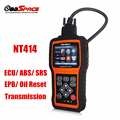 2017 Diagnostic Tool Airbag FOXWELL NT414 Automotive Diagnostic Scanner ECU ECM ABS SRS Airbag Transmission Better AUTEL MD802