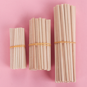 10/50PCS Pine Round Wooden Rods counting Sticks Educational Toys Premium Durable Dowel Building Model Woodworking DIY Crafts(China)