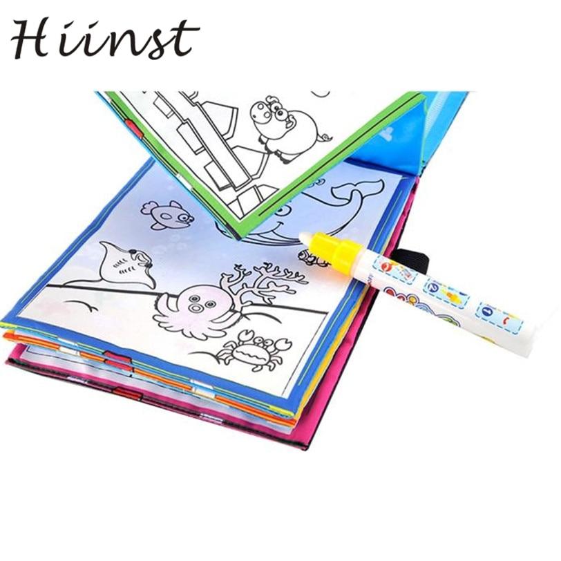 Buku Mewarnai Sihir Air Menggambar Buku Doodle Sihir Pen Hewan - Belajar dan pendidikan
