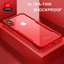 Brand Luxury Transparent Back Case For iPhone X Xs Max Xr 6s 7 8 Plus Phone Silicone Shockproof 360 Full Protective Cover Cases