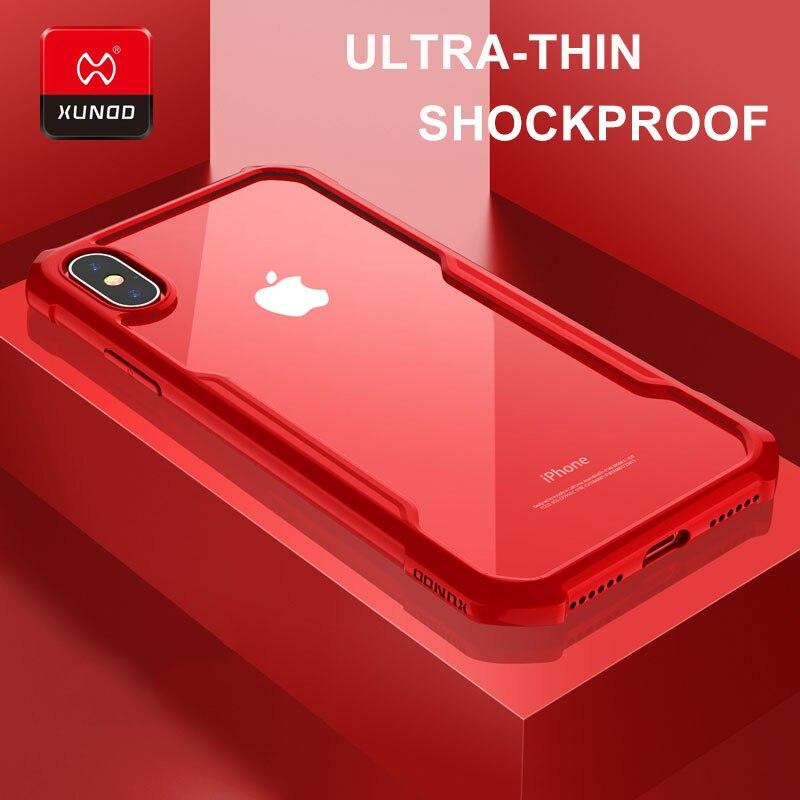 Luxus Transparent Silikon Fall Für iPhone X Xs Max Xr 6 s 7 8 Plus Telefon mit airbags Stoßfest Volle schutz Abdeckung Fällen