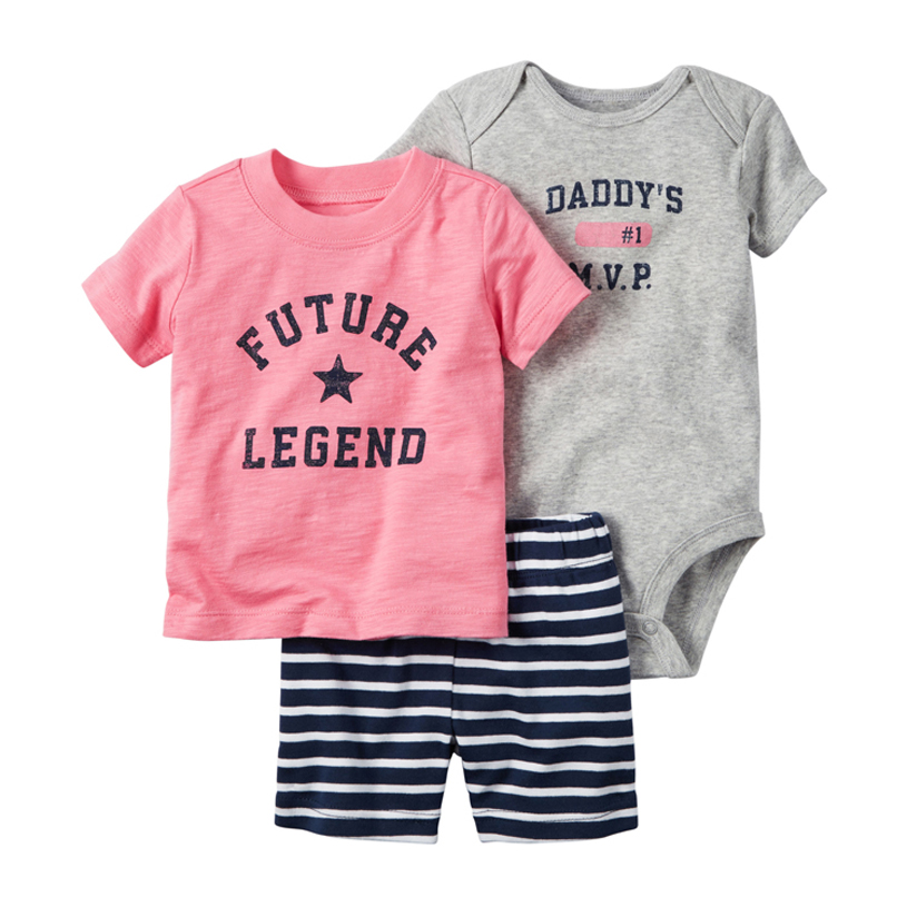 2018 baby boy girl clothes Summer clothing set style Autumn newborn,baby boy clothes,kids clothes,baby romper,short sleeve set 2pcs set baby clothes set boy