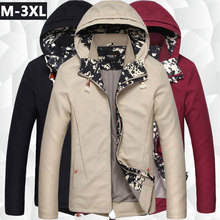 2017 Hot Sale Zipper Cotton Trench Large Men's Clothing Wholesale New Long Slim British Collar Windbreaker Male Coat Solid
