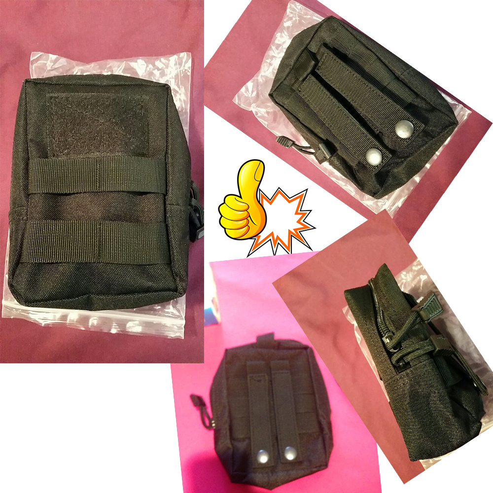 Outdoor Tactical Molle Edc Pouch Utility Gadget Belt Waist Bag Sarung Hp Pounch Army 360 Degrees Rotatable Flashlight Holster Torch Case For Cover Hunting Lighting Accessoriesusd 322 Piece