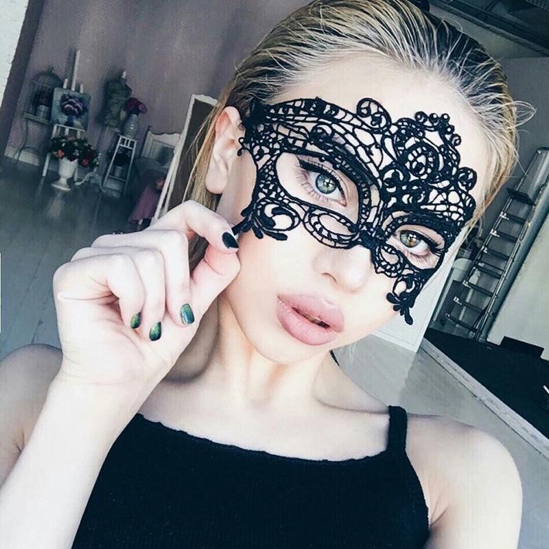2017 Fashion Women Sexy Mask Hallowmas Venetian Eye Mask