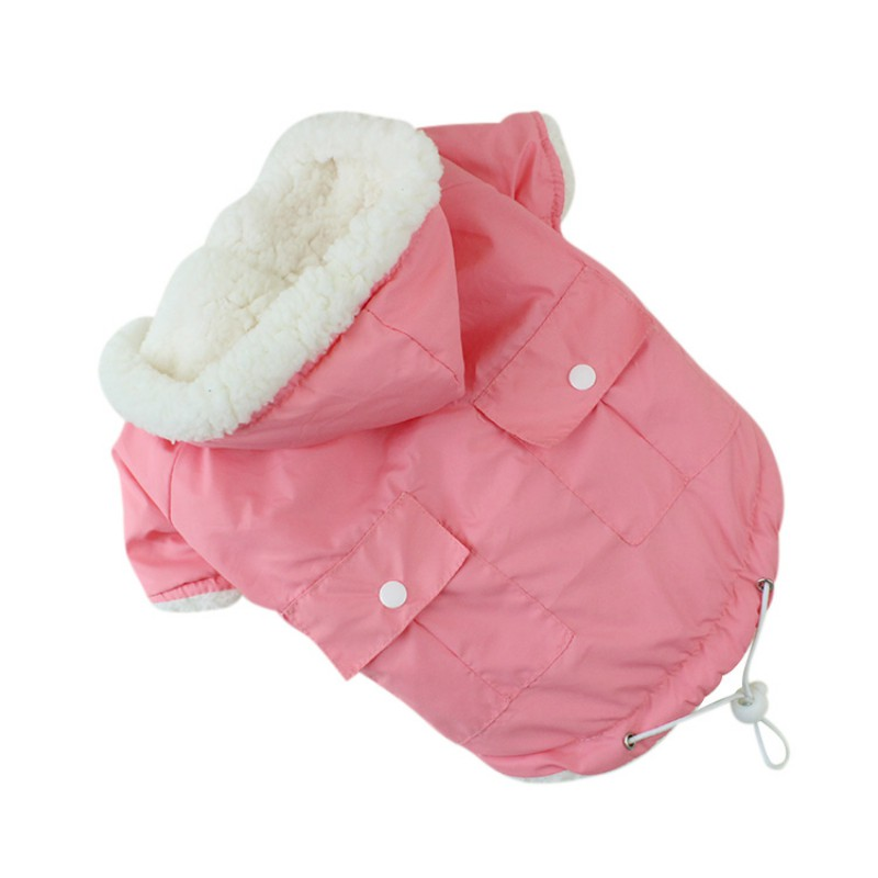 Lovely Pet Dog Jacket Coats Dog Clothing French Bulldog Chihuahua Pet Clothes Winter Warm Clothes for Small Dogs